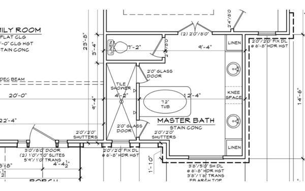 Master Bathroom Floor Plans With Walk In Shower Design Inspiration