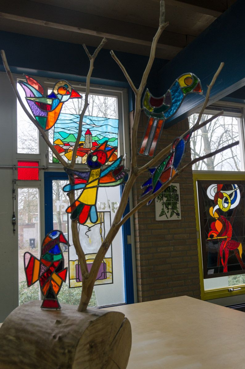 Cursus Glas In Lood.Cursus Glas In Lood Mozaiek En Muurschildering Glasatelier
