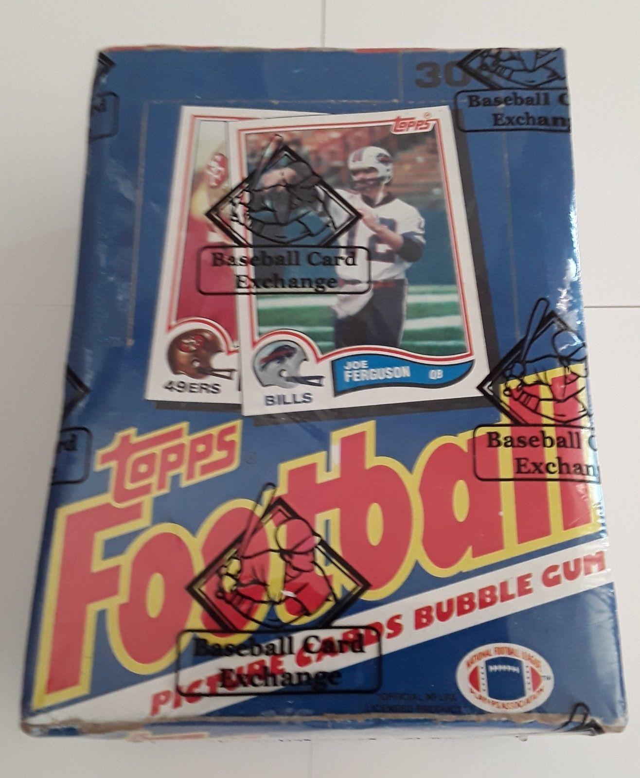 1991 score football cards box