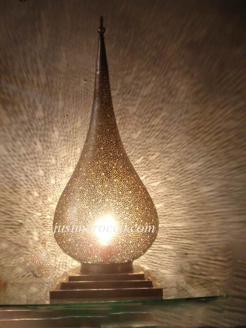 Harem Brass Table Lamp (Exquisite, But Itu0027s $1,200 And Does Not Come Wired.