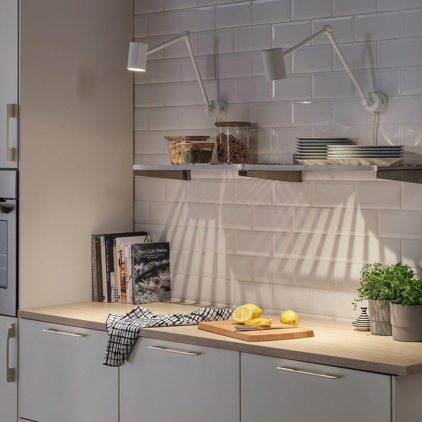 Nymane Work Wall Lamp White Ikea Wall Lamp Living Room Kitchen Ikea