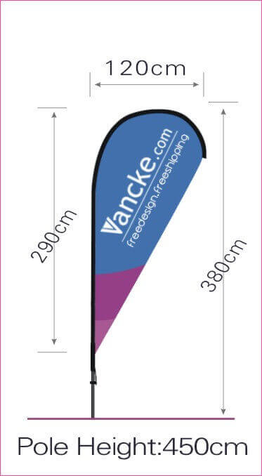 What Is The Teardrop Flag Size In 2020 Teardrop Banner Banner Sizes Custom Flags