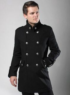 Men's military coat. | Men's Business Casual | Pinterest | Coats