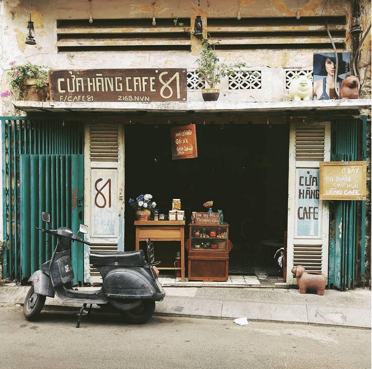 Cửa hàng cafe 81 | Cửa sổ, Cà phê, Hà nội