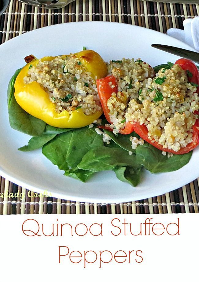 Air Fryer Quinoa Stuffed Peppers Recipe Recipe Stuffed