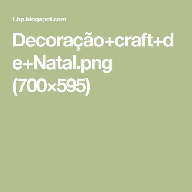 Decoração+craft+de+Natal.png (700×595)