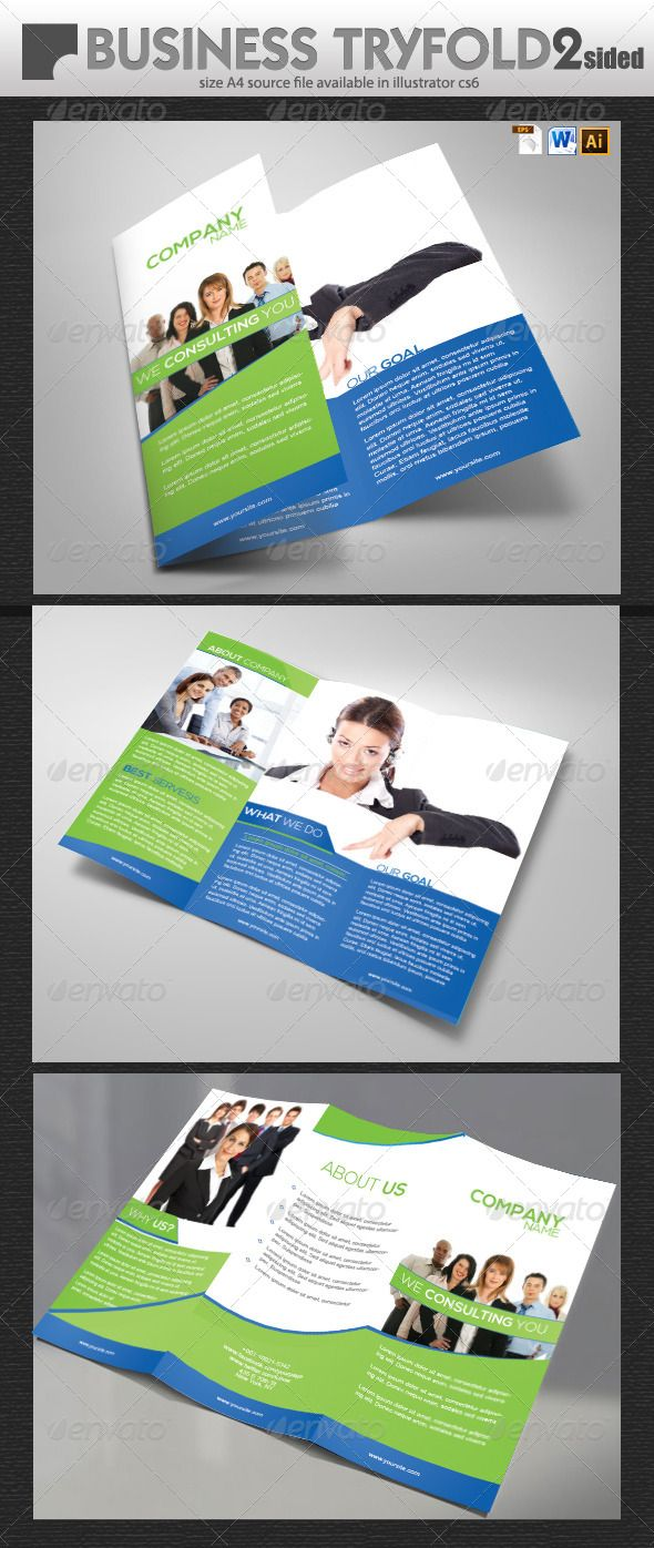 Business Brochure Design  Brochures Business Brochure And