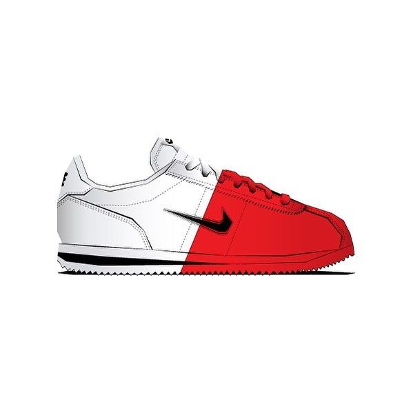 buy online 110c6 75c3d Dipped nike Cortez from Round Twos Crotez Exp. by shanedesigned on  instagram