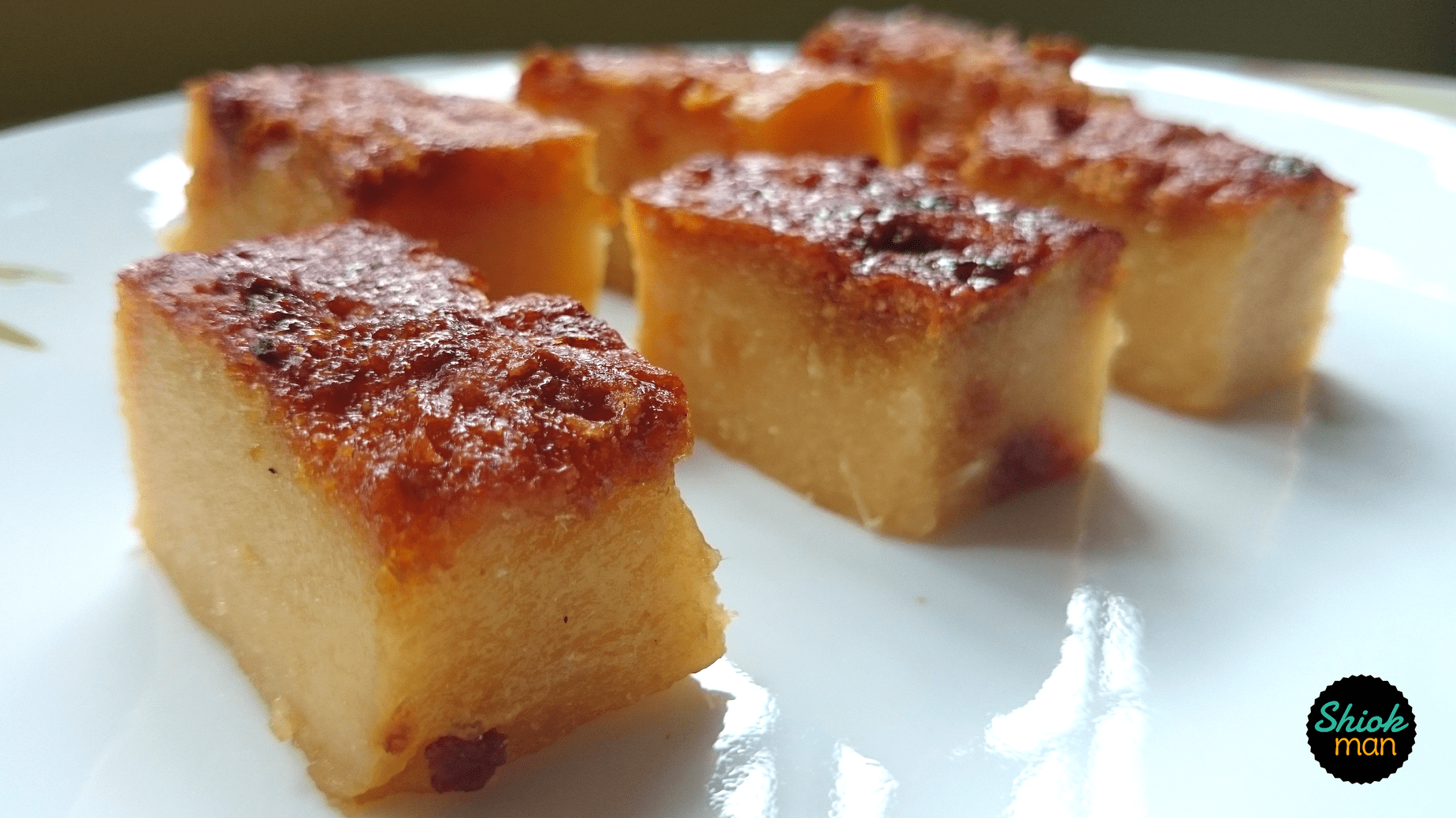 Kueh Bingka Ubi With Gula Melaka Shiokman Recipes Recipe Food Recipes Coconut Pancakes