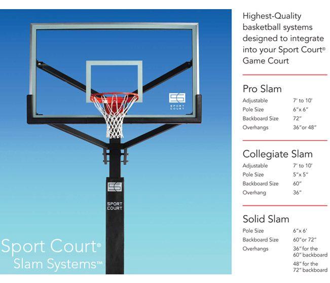 Sport court backyard basketball/tennis courts Garage/yard