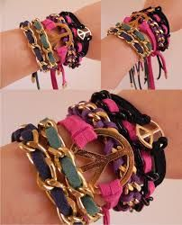 diy pulseiras - Pesquisa Google