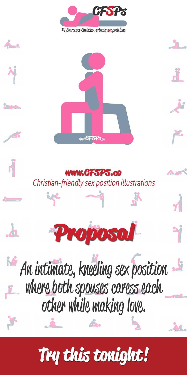 Purposal sex position