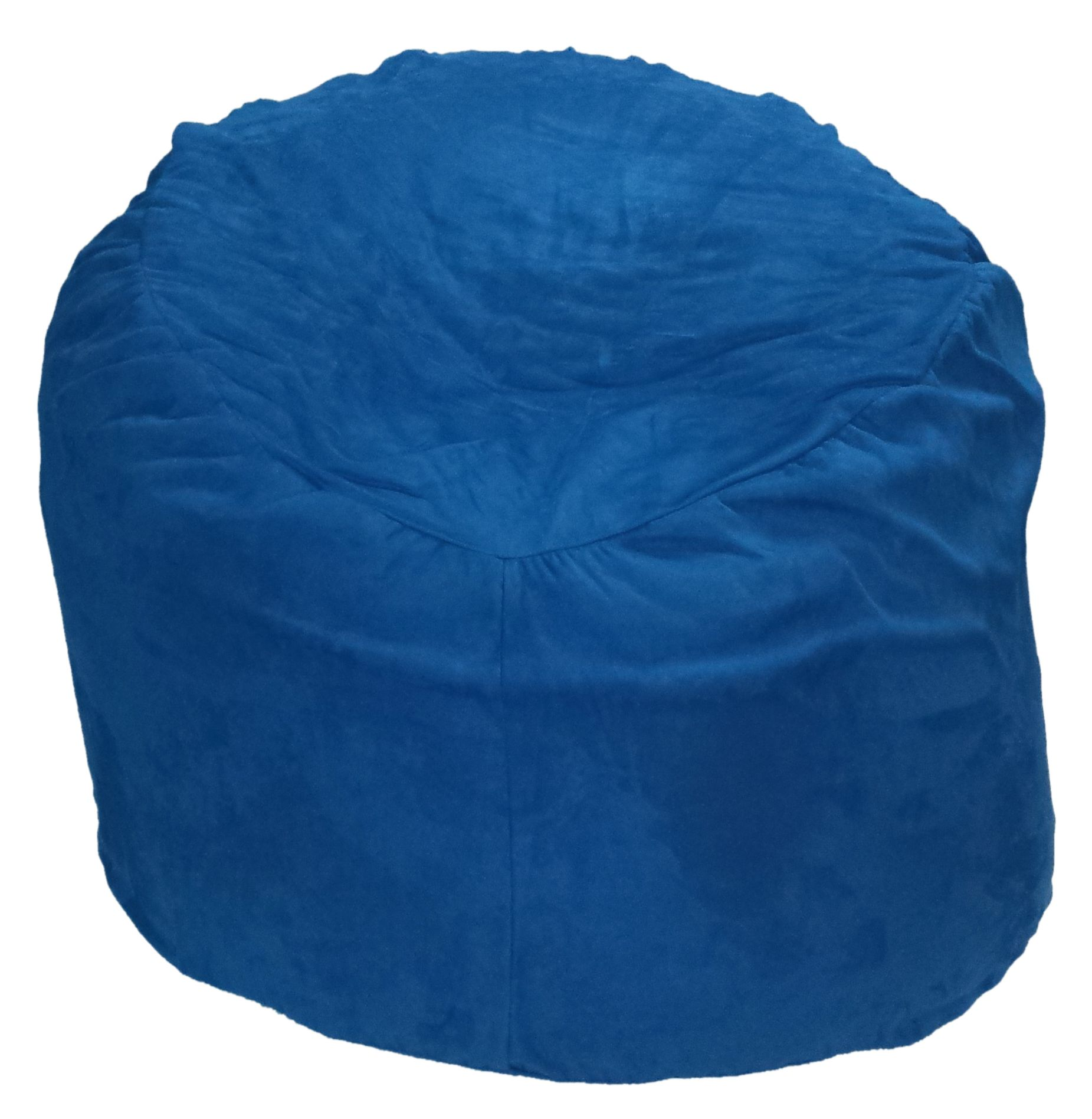 Sea Blue Micro Fiber Beanbag Large and luxurious. This