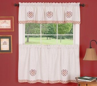 Curtain Bath Outlet Heartland Tier Curtain With Images
