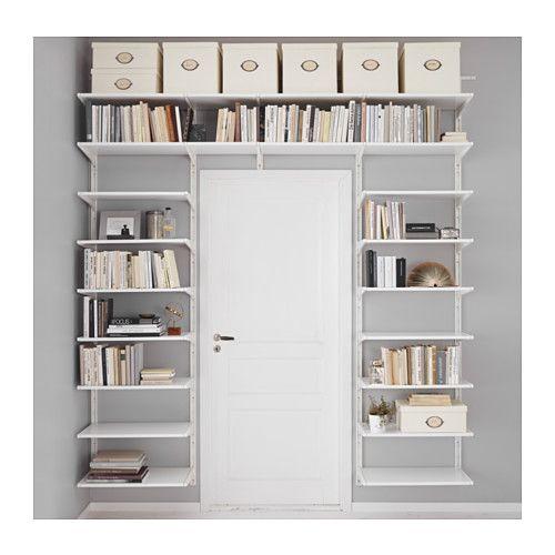 algot cr maill re tablettes blanc cremaillere tablette et ikea. Black Bedroom Furniture Sets. Home Design Ideas