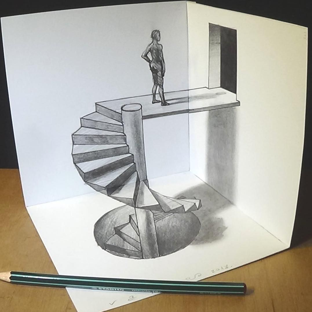 Spiral Stairs By Sandor Vamos From Hungary Webneel