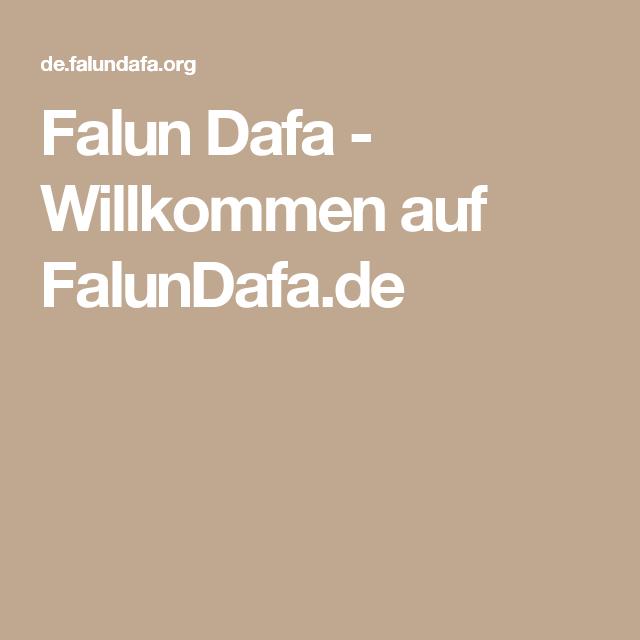 Falun Dafa - Willkommen auf FalunDafa.de