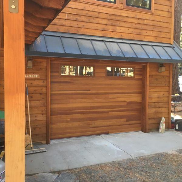 Beautiful C H I Accent Plank Door Model 3285p Shown In