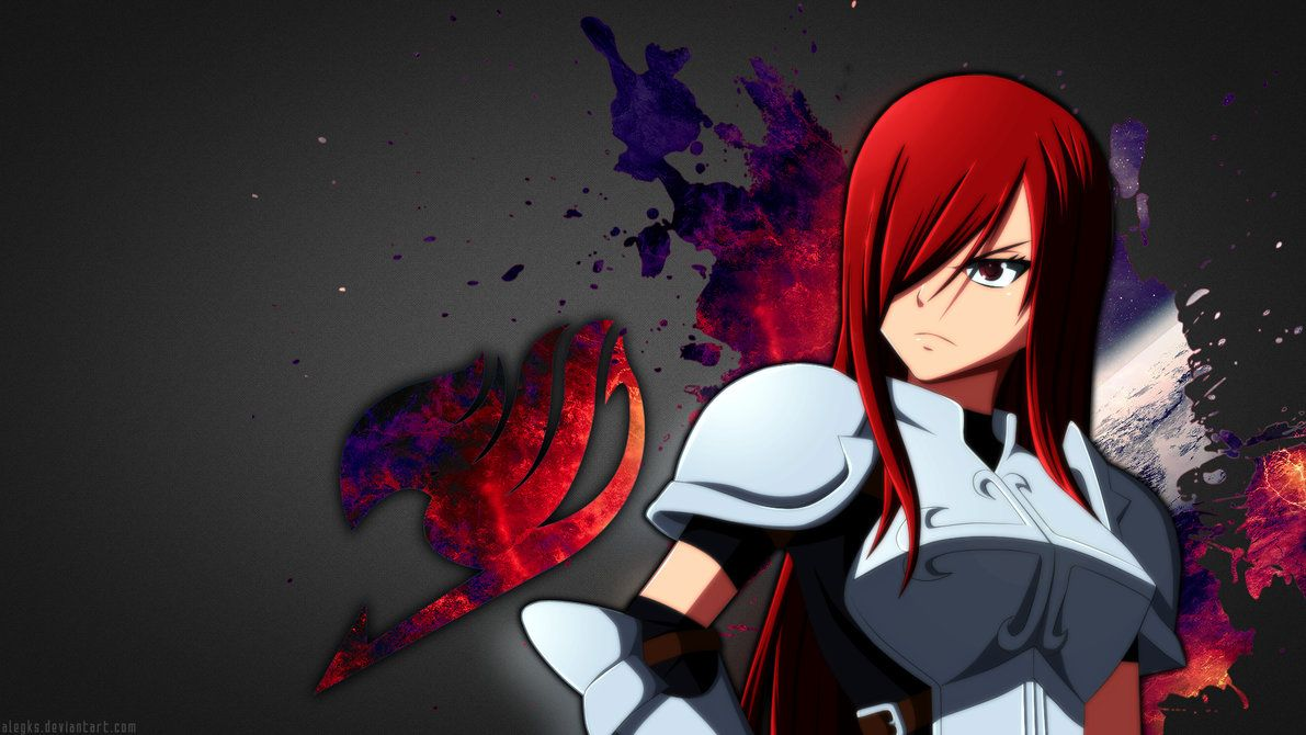 Anime Fairy Tail Erza Scarlet Wallpaper Fairy tail