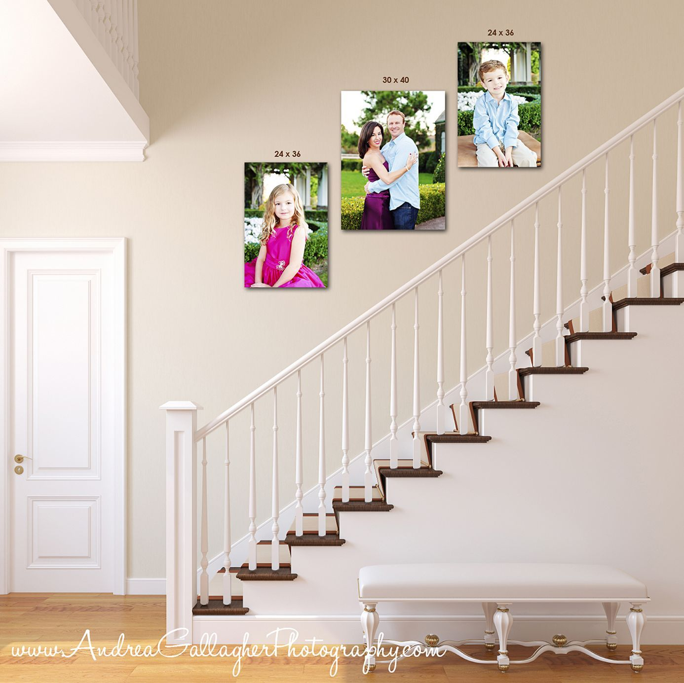 15+ Awesome Arranging Pictures On A Stair Wall Ideas / FresHOUZ.com    Picture arrangements, Picture arrangements on wall, Gallery wall design