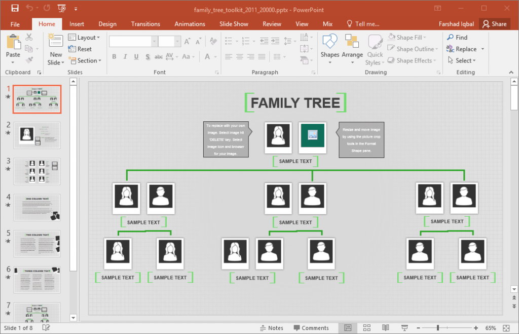 excel family tree template family tree template for excel free