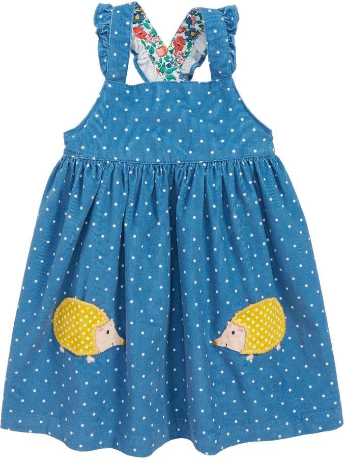 a9cdf00adc652 Boden Mini Applique Corduroy Pinafore Dress Mini Boden, Corduroy Pinafore  Dress, Little Ones,
