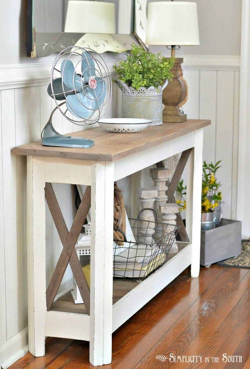 Seasonal simplicity spring home tour farmhouse style