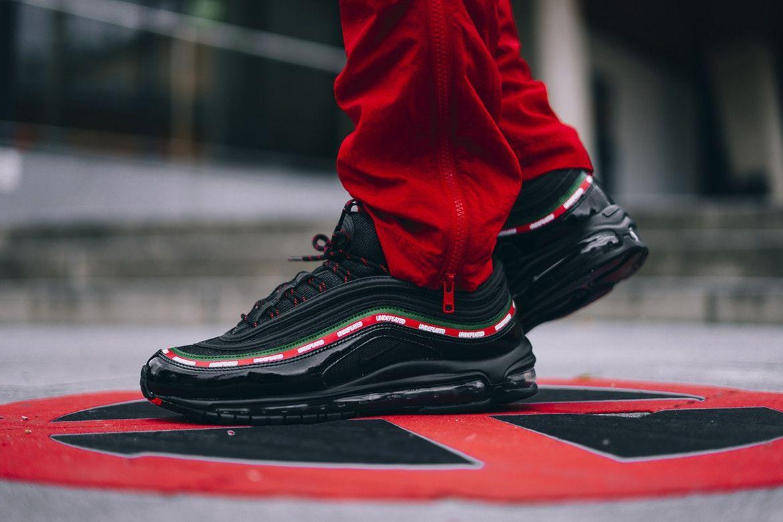 Undefeated X Nike Air Max 97 Black Zdjecia Na Nogach Nike Air Max 97 Nike Air Max Nike Shoes Online