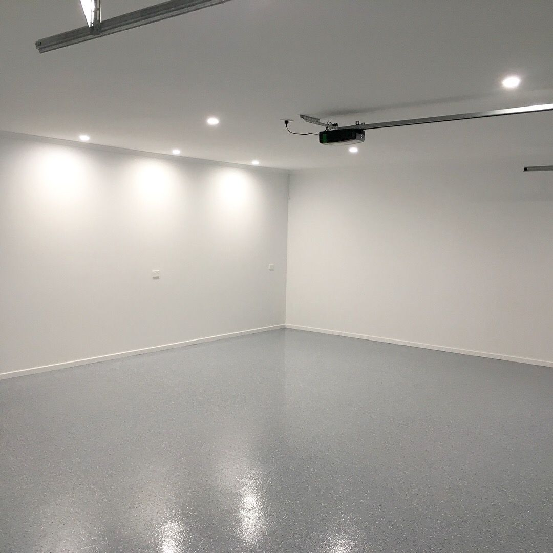 A Simple Easy To Clean Durable Grey Tinted Epoxy Coating Epoxy