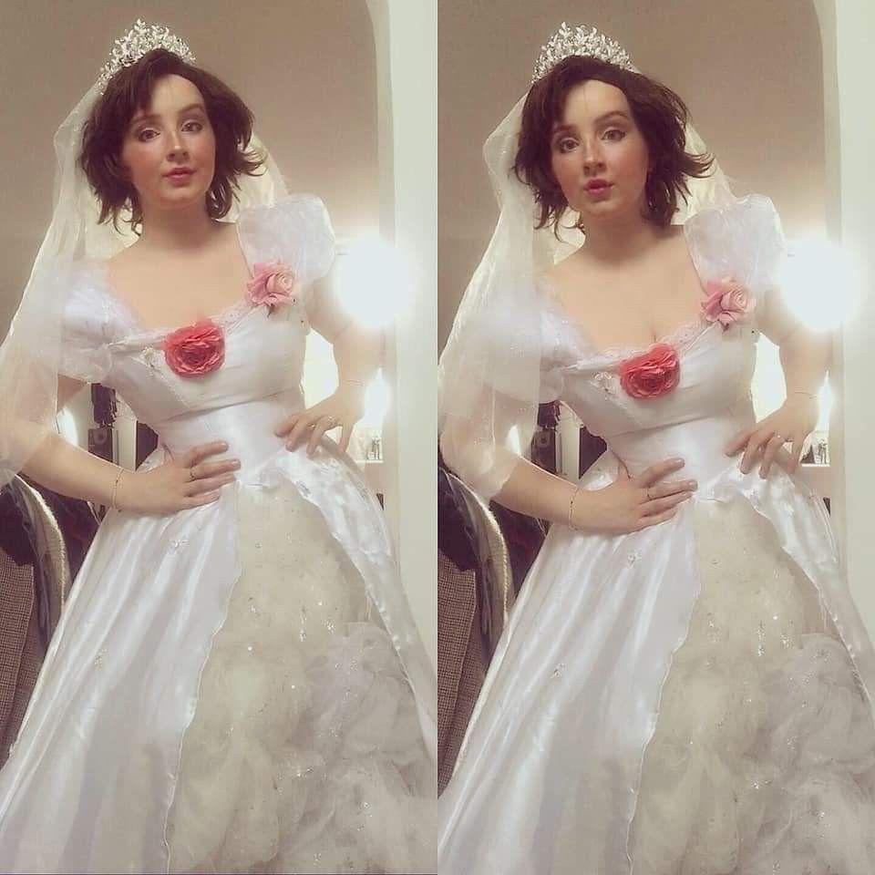 18++ Rapunzel wedding dress tangled info