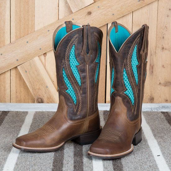5dbd5400381 Ariat Ladies Brown Venttek Ultra Boots | My Kind of Style | Boots ...