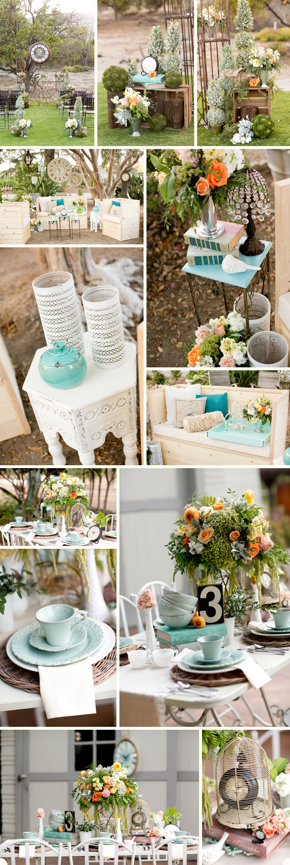 From vintage clocks to magnificent chandeliers, giant oak trees and tasty sweets, this romantic summer wedding day combines luxury with ease.