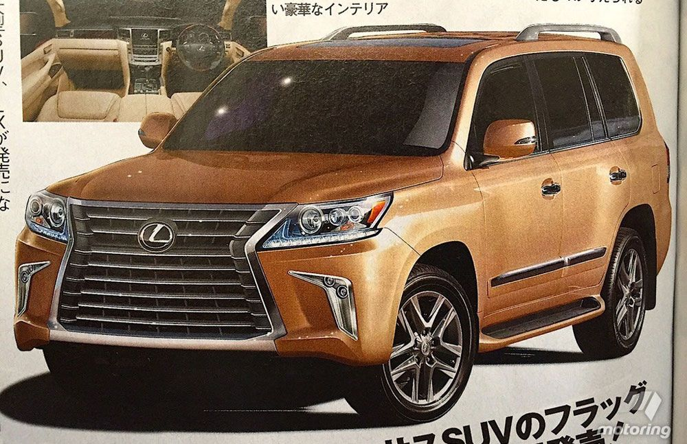 Lexus LX 2016 Update Automobiles Old and New Pinterest