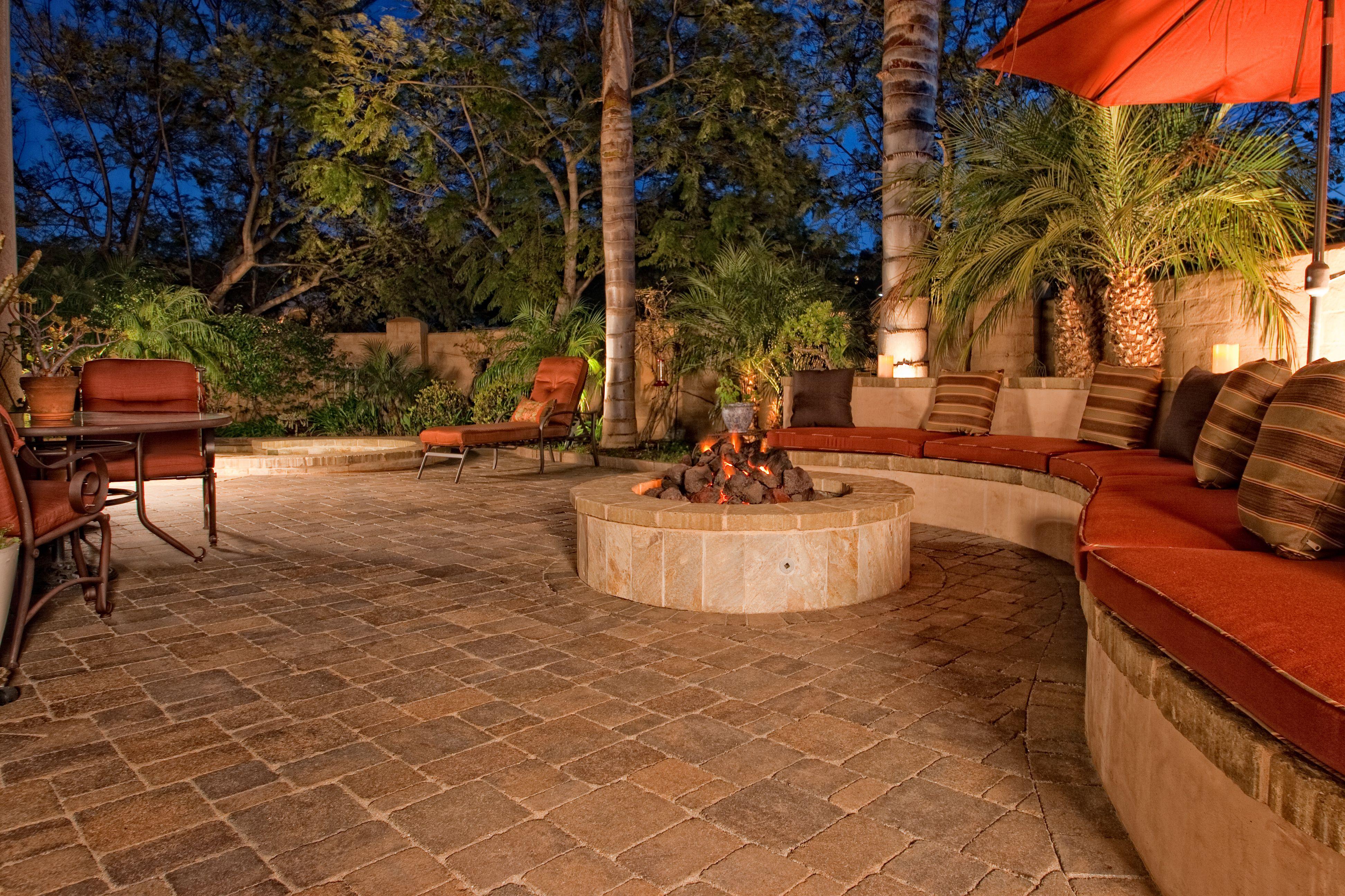 Paver Backyards Pavers Backyard Outdoor Living Design Beautiful Outdoor Living Spaces Beautiful outdoor living spaces