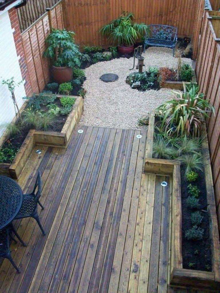 45 Admirable Small Garden For Small Backyard Ideas Gardening Garden Gardendesig Small Backyard Landscaping Backyard Landscaping Designs Small Garden Design