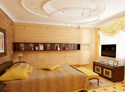12 plaster of paris ceiling designs for bedroom ceiling for Plaster of paris ceiling designs for living room