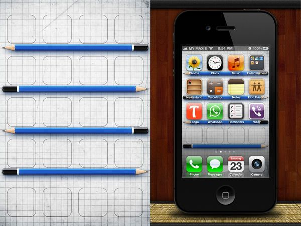 Creative Iphone Wallpapers To Make Your Apps Look Good Hongkiat Iphone Wallpaper Grid Creative Iphone Wallpapers Iphone Wallpaper App Creative iphone wallpapers to make