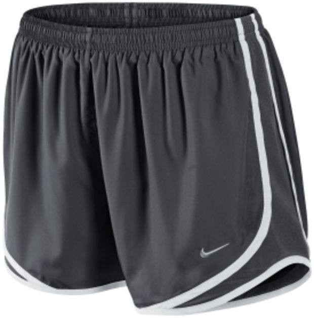 all black nike womens tempo shorts