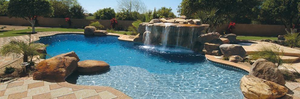 piscine creus e avec chute recherche google piscine