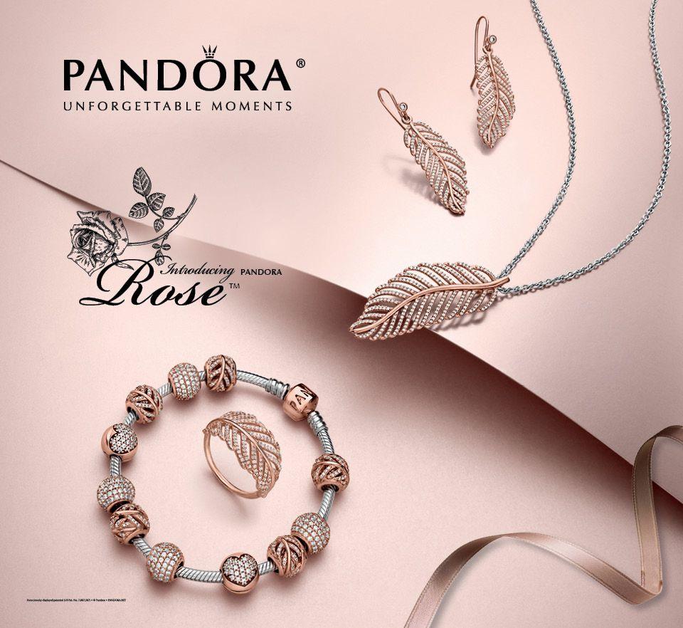 Luminous and elegant, PANDORA Rose jewelry combines a unique blend ...