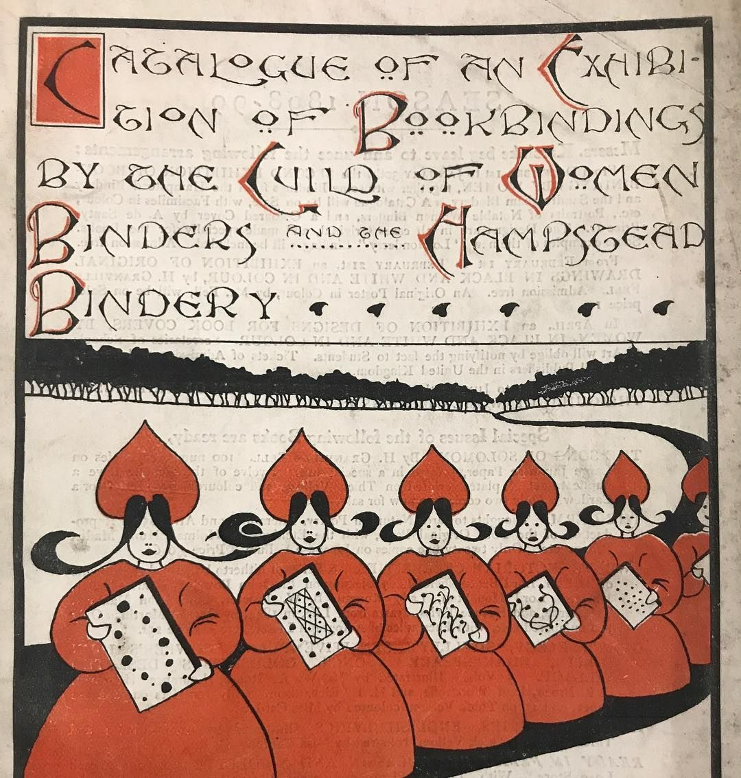 Catalogue Of An Exhibition Of Bookbinding By The Guild Of