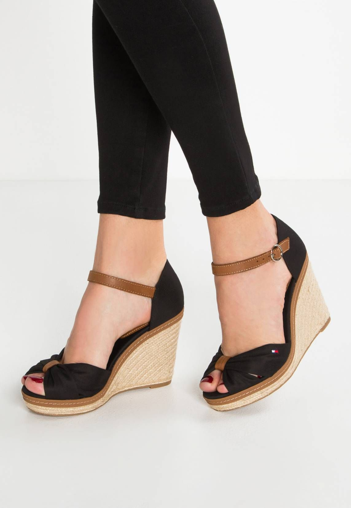 High Heeled Sandals Black Shoes In 2019 Shoes Heels