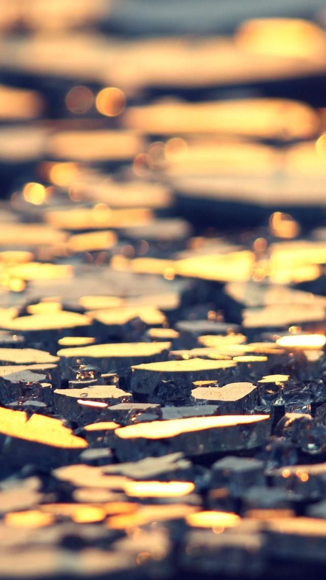 Broken Glass iPhone 5 Wallpaper