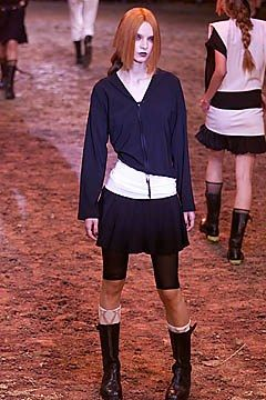 Jean Paul Gaultier Spring 2001 Ready-to-Wear Fashion Show - Jean Paul Gaultier, Zuzana Macasova