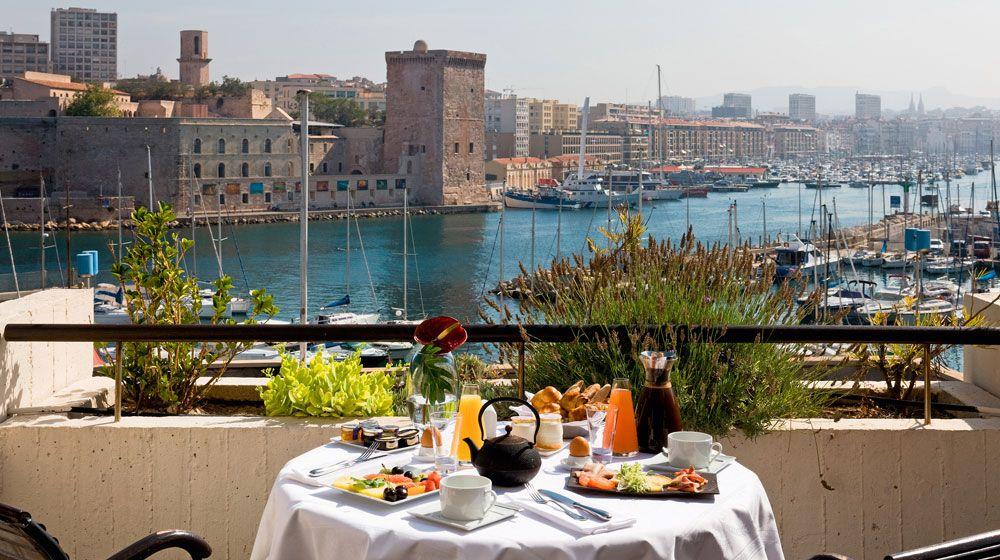Sofitel marseille vieux port marseille france dining experience marseille breakfast france - Sofitel vieux port marseille ...