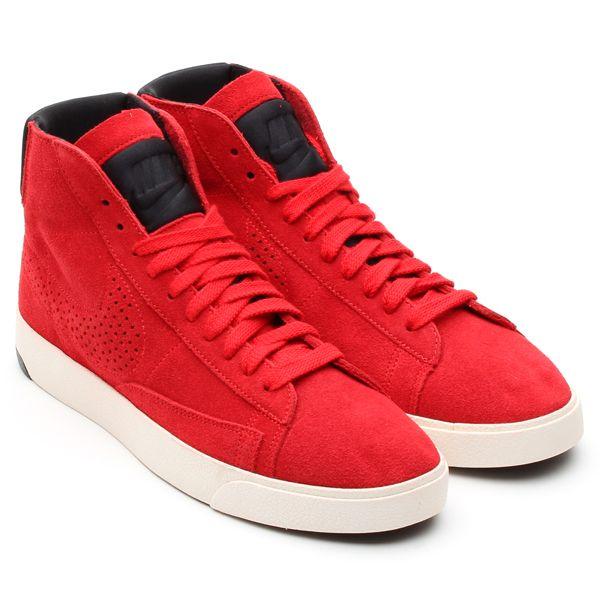 #Nike Blazer Lux - University Red / Sail / Black