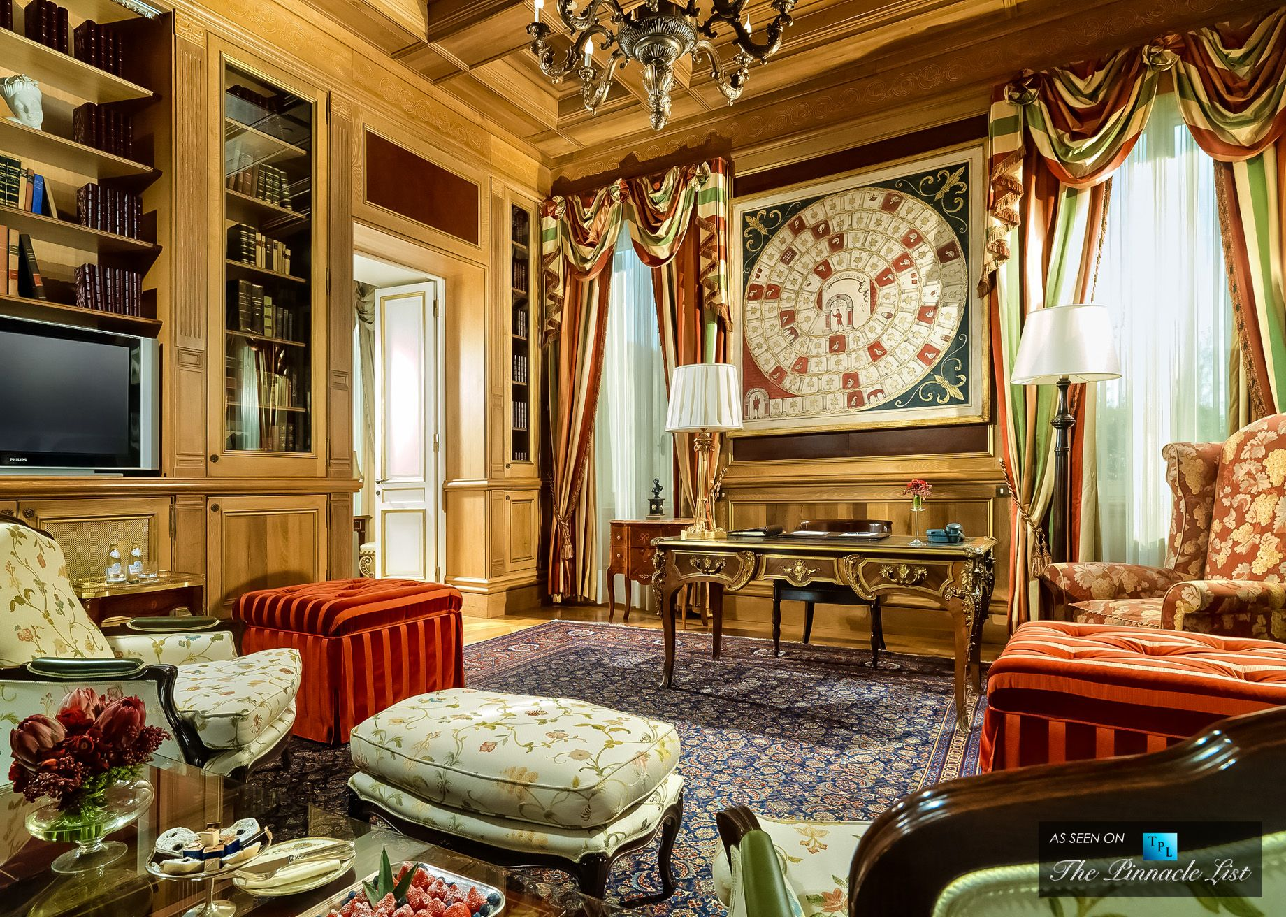 St regis luxury hotel rome italy royal suite studio for Studio design roma
