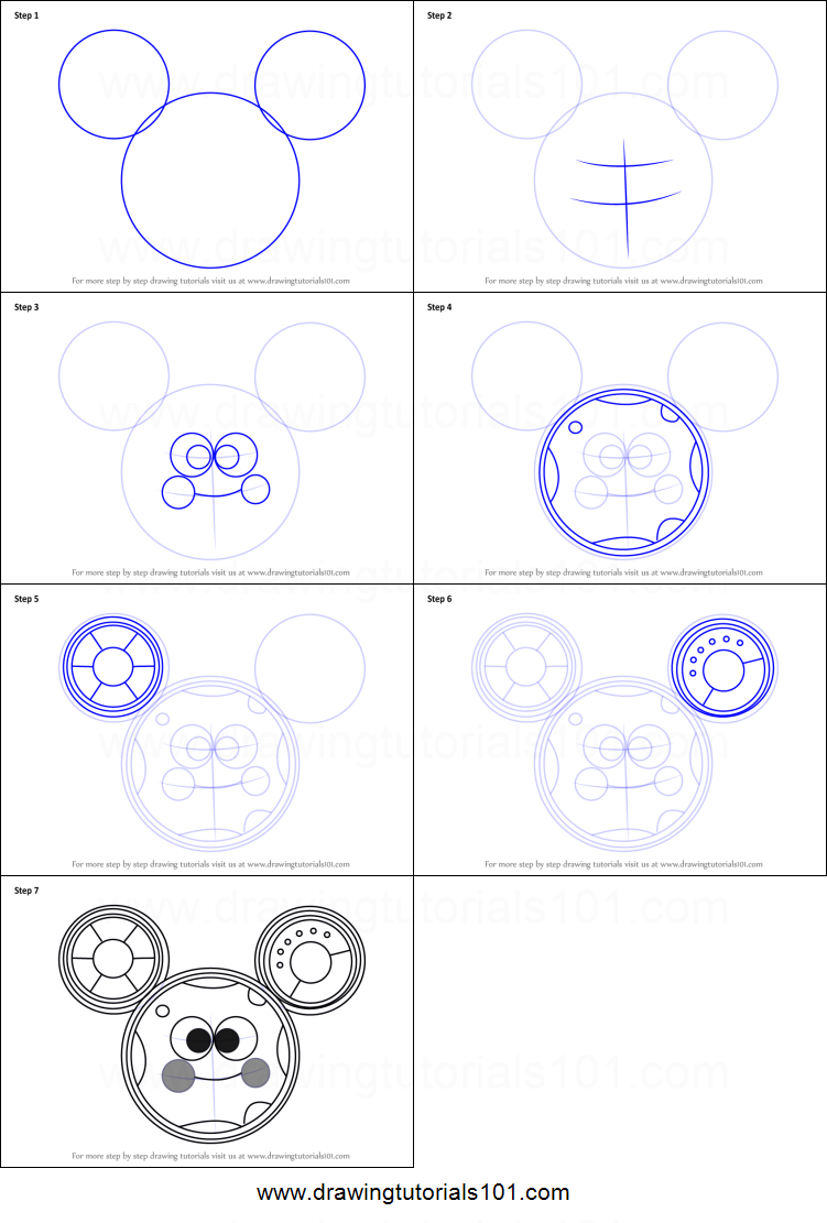 How To Draw Toodles From Mickey Mouse Clubhouse Printable Drawing Sheet By Drawingtutorials101 Com Toodles Mickey Mouse Mickey Mouse Clubhouse Mickey
