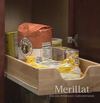 Tall Utility Cabinet with Roll-Out Trays - Classic Accessories - Merillat