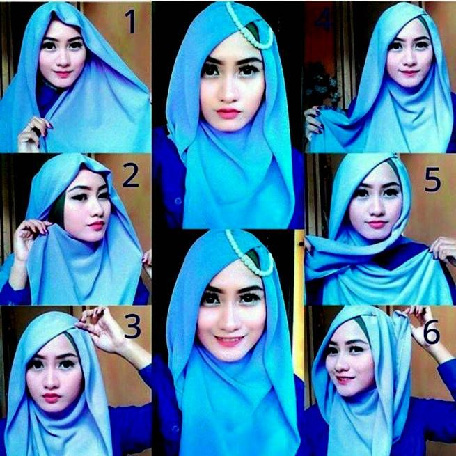 Tutorial Hijab Cantik Untuk Pergi Ke Pesta Contoh Baju Muslim Terbaru Tutorial Hijab Pashmina Kerudung Jilbab Muslim
